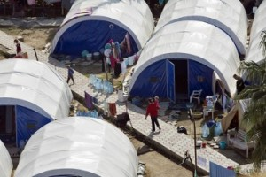 More than 200 families have settled in the Erbil camp.
