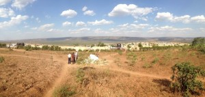 This barren land outside Mahama Refugee Camp will be used by local Christians to build a church and distribute items to refugees. One item the refugees need is firewood, as this land doesn't have any trees for use. Samaritan's Purse is currently supporting the needs of the local church.