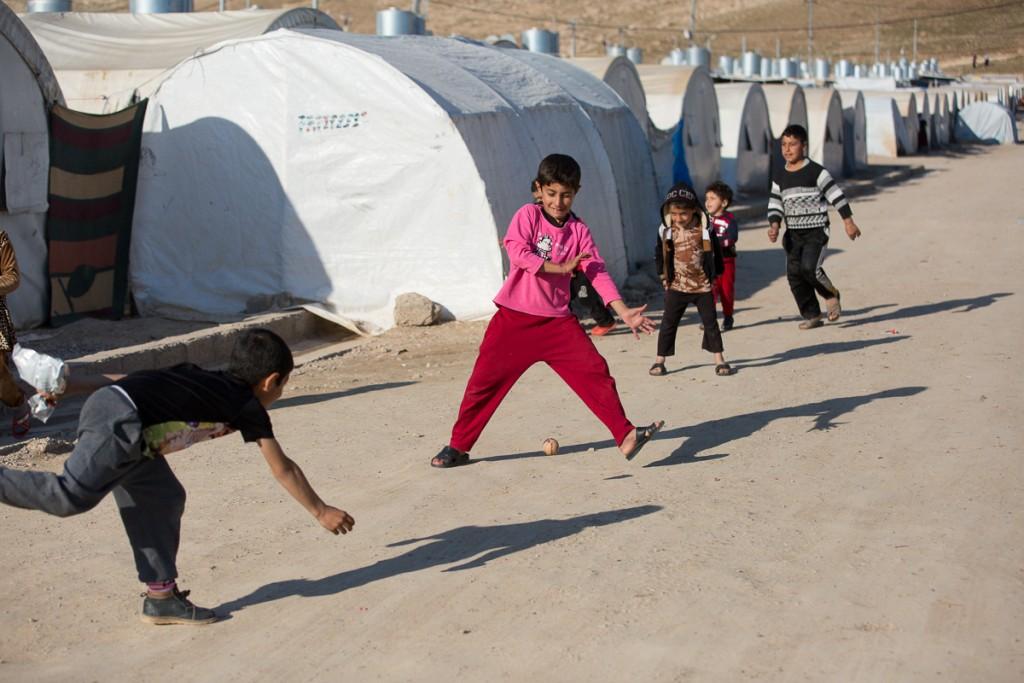 Iraqi Camp for Yazidis, SP WaSH program