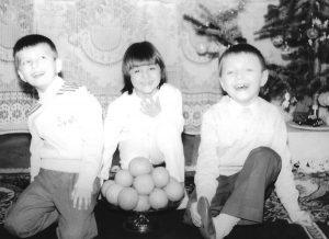 Dana and her siblings