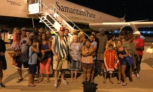 The Samaritan's Purse was a welcome sight to storm-weary Irma survivors stranded on St. Maarten.