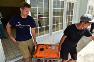 Samaritan's Purse is supplying generators to Churches providing refuge from the storms