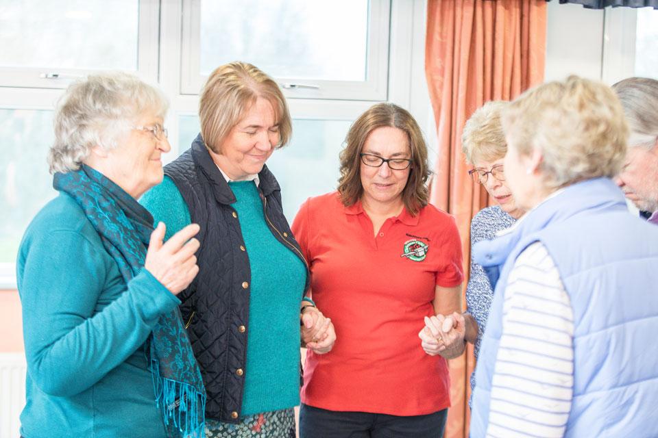 Group Praying