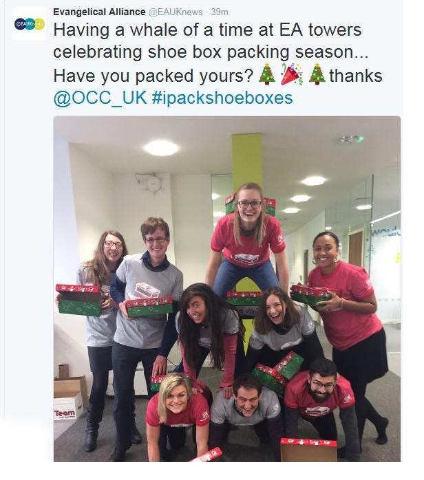 #ipackshoeboxes