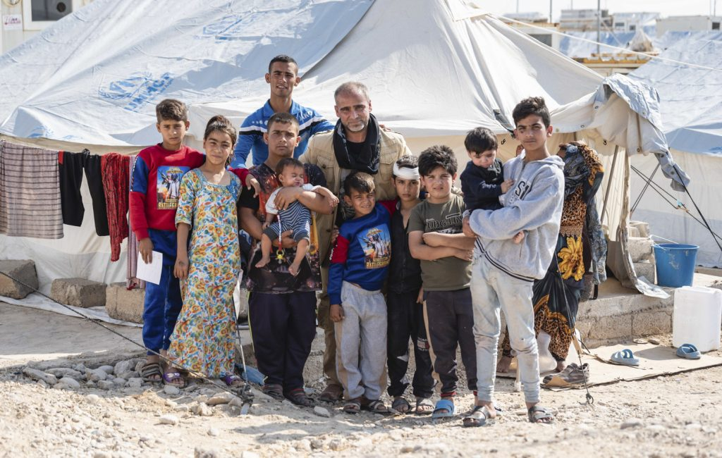Adan and his extended family are grateful they escaped Syria with their lives.