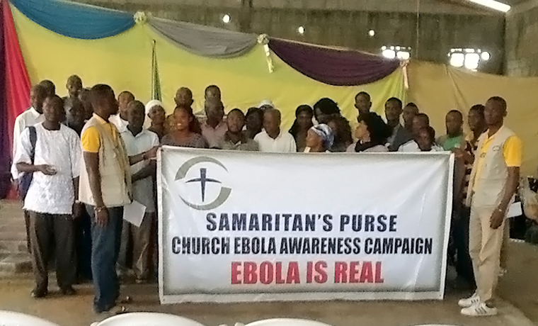 We conducted media and awareness campaigns throughout Liberia to encourage people to seek treatment and avoid disease spread