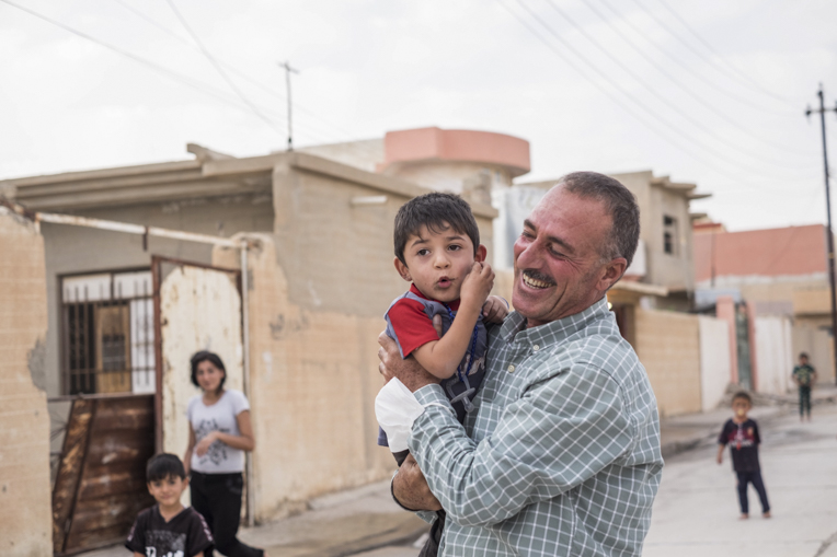 Families are returning to Sinjar, seeking to rebuild their lives after the horrors of 2014.