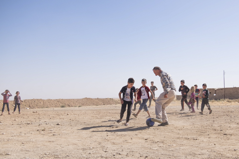Soccer is again being played in Sinjar—a sign of life and hope!