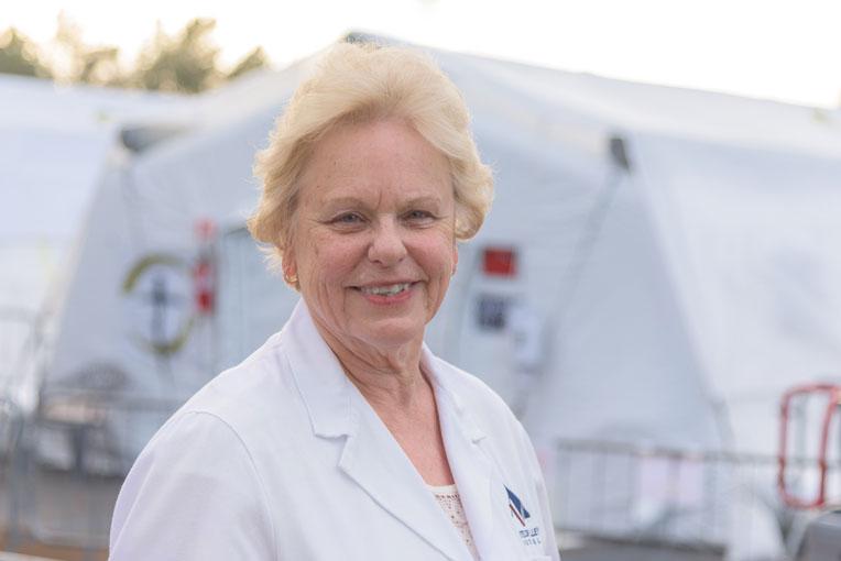 Penny Hammer, director of nursing services at Antelope Valley Hospital<